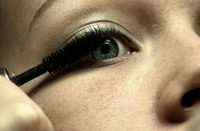 Limiting or stopping the use of eye makeup when treating blepharitis is often recommended, as its use will make lid hygiene more difficult.