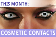 cosmetic contacts