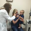 7 Month-old Charlie has his first eye exam