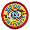 Vision Awareness Girl Scout Patch